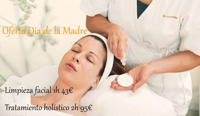Dia de La Madre promoción facial Dr. Hauschka