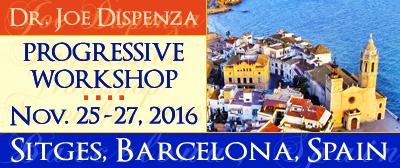 Dr. Joe Dispenza: nuevo curso en Barcelona (Sitges) Noviembre 2016