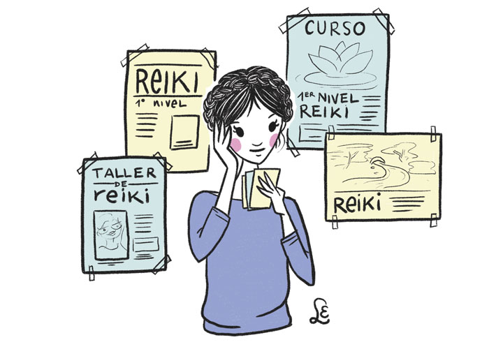 Reiki: conoce el poder del 1er. símbolo  «Choku Rei»