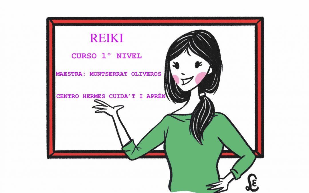 Reiki 1º nivel: «Conecta con la energía que hay en tí»