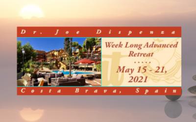 Dr. Joe Dispenza nuevamente en España en el 2021